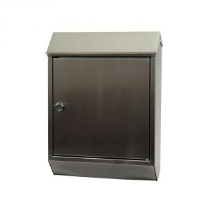 Eurobox Stainless Steel Mailbox