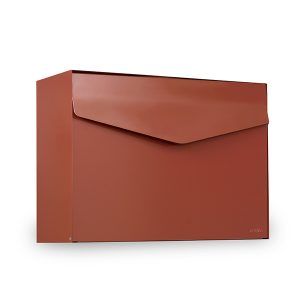 MEFA Letter Mailbox - Copper Brown