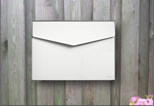 MEFA Letter Post Box - White