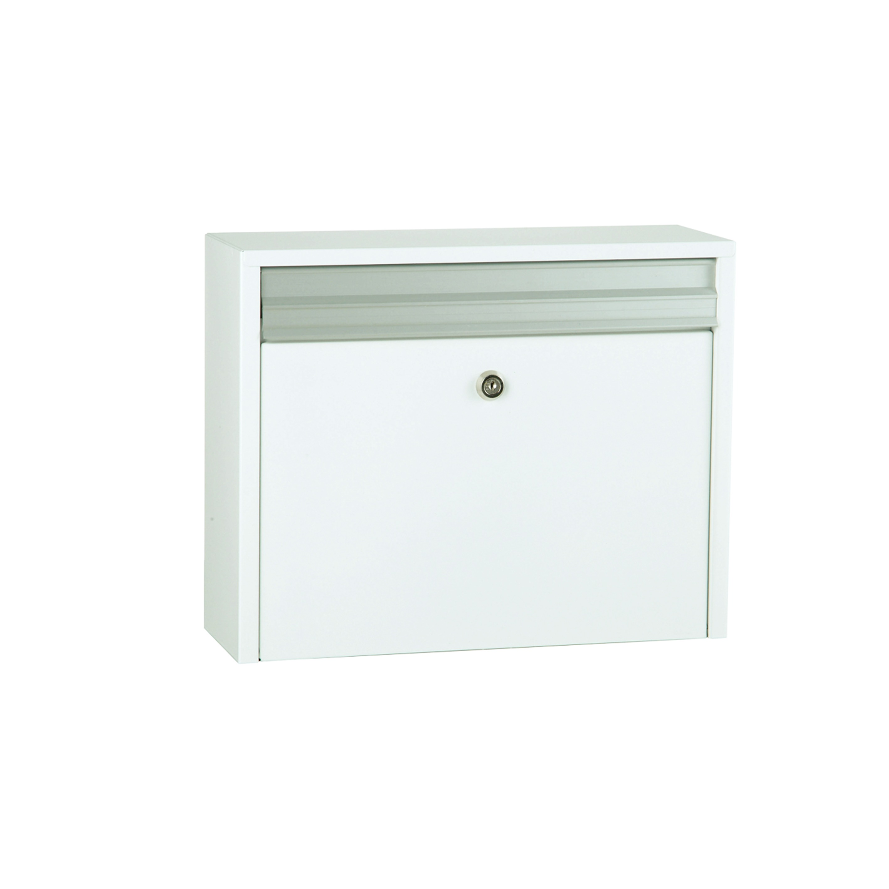 MEFA Minuet - White / Galvanised Steel Flap