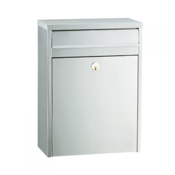 MEFA Piano Mailbox - Stainless Steel