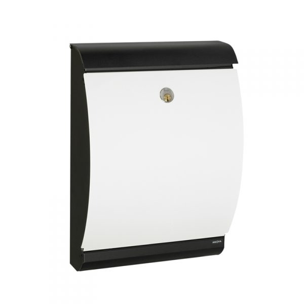 MEFA Puffin Mailbox - Black / White