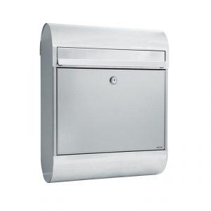 MEFA Ruby Mailbox - Galvanised Steel