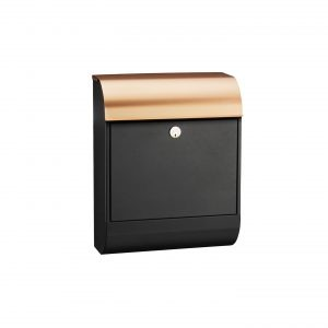 MEFA Pearl Mailbox - Black / Copper