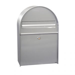 MEFA Amber Mailbox - Stainless Steel