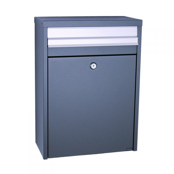 MEFA Piano Mailbox - Anthracite Grey